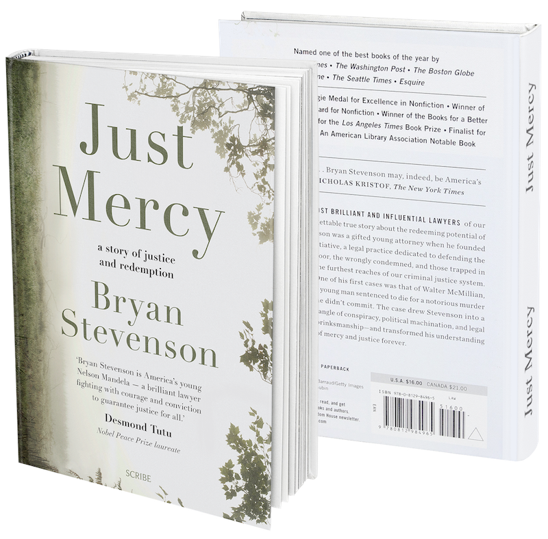 Just Mercy book covers